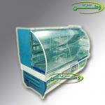 ساخت سفارشی یخچال شیشه خم