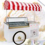 تاپینگ بستنی  چرخ دار