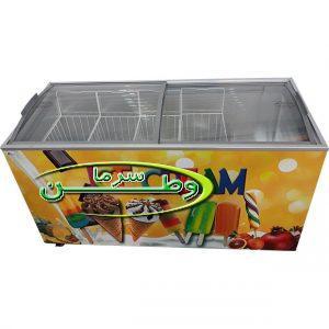 فریزر صندوقی بستنی با درب کشویی