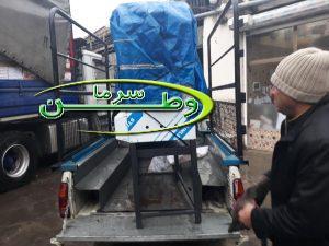 تحویل کباب پز صنعتی مشتری از سراوان
