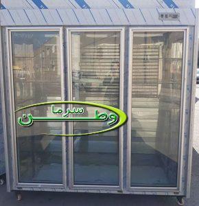 یخچال پشت بسته ۳ درب