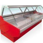 فریزر فروشگاهی شیشه خم
